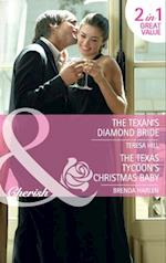 Texan's Diamond Bride: The Texan's Diamond Bride / The Texas Tycoon's Christmas Baby (Mills & Boon Cherish) af Teresa Hill