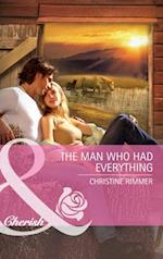 Man Who Had Everything (Mills & Boon Cherish) (Montana, Book 17)
