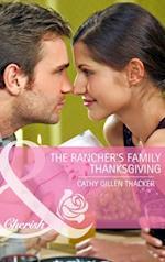 Rancher's Family Thanksgiving (Mills & Boon Cherish)