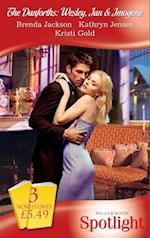 Danforths: Wesley, Ian & Imogene: Scandal Between the Sheets / The Boss Man's Fortune / Challenged by the Sheikh (Mills & Boon Spotlight)