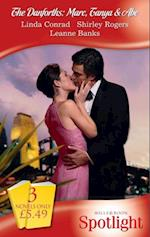 Danforths: Marc, Tanya & Abe: The Laws of Passion / Terms of Surrender / Shocking the Senator (Mills & Boon Spotlight)