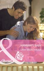 Hannah's Baby (Mills & Boon Cherish) (Made in Texas, Book 1)