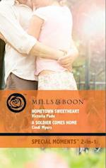 Hometown Sweetheart / A Soldier Comes Home: Hometown Sweetheart / A Soldier Comes Home (Mills & Boon Cherish) (Northbridge Nuptials, Book 10)