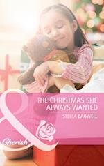 Christmas She Always Wanted (Mills & Boon Cherish) (Men of the West, Book 14)