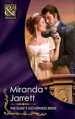 Duke's Governess Bride (Mills & Boon Historical) af Miranda Jarrett