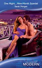 One Night...Nine-Month Scandal (Mills & Boon Modern)