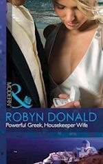 Powerful Greek, Housekeeper Wife (Mills & Boon Modern)