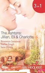 Ashtons: Jillian, Eli & Charlotte: Just a Taste / Awaken the Senses / Estate Affair (Mills & Boon Spotlight) af Bronwyn Jameson