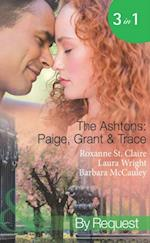 Ashtons: Paige, Grant & Trace: The Highest Bidder / Savour the Seduction / Name Your Price (Mills & Boon Spotlight)