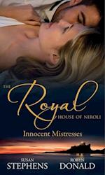 Royal House of Niroli: Innocent Mistresses: Expecting His Royal Baby / The Prince's Forbidden Virgin (Mills & Boon M&B)