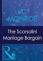 Scorsolini Marriage Bargain (Mills & Boon Modern) (Royal Brides, Book 3)