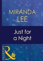 Just For A Night af Miranda Lee