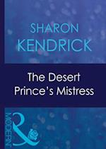Desert Prince's Mistress (Mills & Boon Modern) (Surrender to the Sheikh, Book 2)