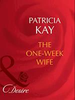One-Week Wife af Patricia Kay