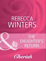 Daughter's Return (Mills & Boon Cherish) (Lost & Found, Book 8)
