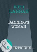 Banning's Woman (Mills & Boon Intrigue) (The Lassiter Law, Book 3)