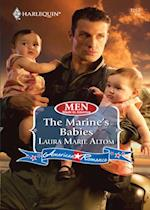 Marine's Babies (Mills & Boon Love Inspired) (Men Made in America, Book 55)