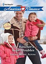 Rancher's Twin Troubles (Mills & Boon Love Inspired) (The Buckhorn Ranch, Book 2)