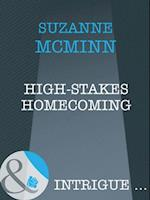 High-Stakes Homecoming (Mills & Boon Intrigue) (Haven, Book 4) af Suzanne McMinn