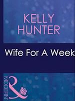Wife For A Week (Mills & Boon Modern) (The Bennett Family)