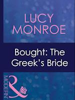 Bought: The Greek's Bride (Mills & Boon Modern)