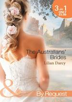 Australians' Brides: The Runaway and the Cattleman / Princess in Disguise / Outback Baby (Mills & Boon By Request)