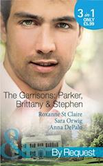 Garrisons: Parker, Brittany & Stephen: The CEO's Scandalous Affair / Seduced by the Wealthy Playboy / Millionaire's Wedding Revenge (Mills & Boon By Request) (The Garrisons, Book 1)
