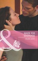 Made for Marriage (Mills & Boon Cherish) af Helen Lacey
