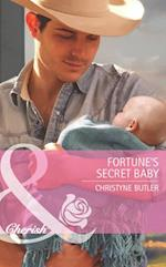 Fortune's Secret Baby (Mills & Boon Cherish) (The Fortunes of Texas: Lost...and Found, Book 5) af Christyne Butler