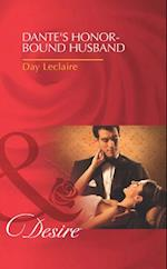 Dante's Honour-Bound Husband (Mills & Boon Desire)