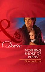 Nothing Short of Perfect (Mills & Boon Desire) (Billionaires and Babies, Book 23)