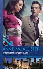 Breaking the Greek's Rules (Mills & Boon Modern)