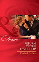 Return of the Secret Heir (Mills & Boon Desire)