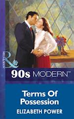 Terms Of Possession (Mills & Boon Vintage 90s Modern) af Elizabeth Power