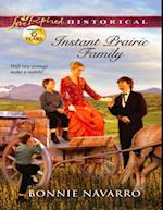 Instant Prairie Family (Mills & Boon Love Inspired Historical) af Bonnie Navarro