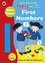 Start School with Topsy and Tim: Wipe Clean First Numbers (Topsy & Tim, nr. 57)