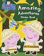 Peppa Pig: Amazing Adventures Sticker Book (Peppa Pig)
