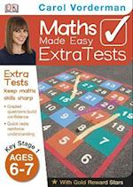 Maths Made Easy Extra Tests Age 6-7 (Carol Vorderman's Maths Made Easy)
