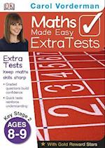 Maths Made Easy Extra Tests Age 8-9 (Carol Vorderman's Maths Made Easy)