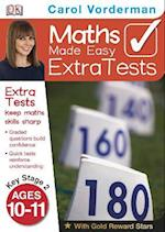 Maths Made Easy Extra Tests Age 10-11 (Carol Vorderman's Maths Made Easy)