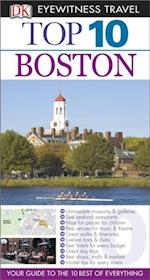 DK Eyewitness Top 10 Travel Guide: Boston af Patricia Harris