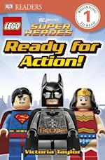 LEGO  DC Super Heroes Ready for Action! (DK Readers. Level 1)