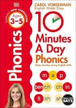 10 Minutes A Day Phonics KS1 (Reissues Education 2014)