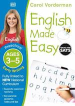 English Made Easy Early Writing Preschool Ages 3-5 (Carol Vorderman's English Made Easy)