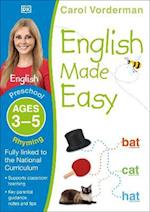 English Made Easy Rhyming Preschool Ages 3-5 (Carol Vorderman's English Made Easy)