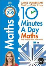 10 Minutes a Day Maths Ages 7-9 (Reissues Education 2014)
