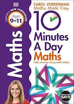 10 Minutes a Day Maths Ages 9-11 (Reissues Education 2014)