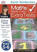 Maths Made Easy Extra Tests Age 5-6 (Carol Vorderman's Maths Made Easy)