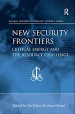New Security Frontiers (Global Interdisciplinary Studies Series)