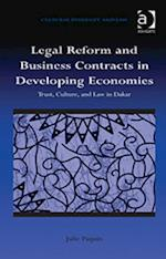 Legal Reform and Business Contracts in Developing Economies (Cultural Diversity and Law)